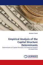 Empirical Analysis of the Capital Structure Determinants