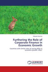 Furthering the Role of Corporate Finance in Economic Growth