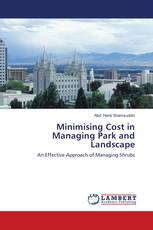 Minimising Cost in Managing Park and Landscape
