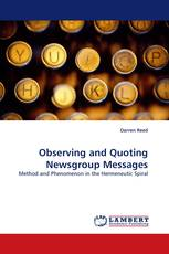Observing and Quoting Newsgroup Messages