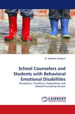 School Counselors and Students with Behavioral Emotional Disabilities