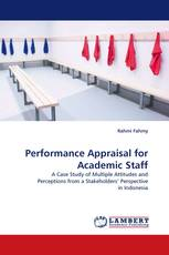 Performance Appraisal for Academic Staff