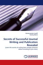 Secrets of Successful Journal Writing and Publication Revealed