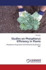 Studies on Phosphorus Efficiency in Plants