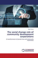 The social change role of community development corporations
