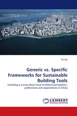 Generic vs. Specific Frameworks for Sustainable Building Tools