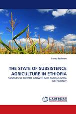 THE STATE OF SUBSISTENCE AGRICULTURE IN ETHIOPIA