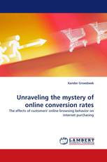 Unraveling the mystery of online conversion rates