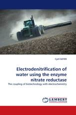 Electrodenitrification of water using the enzyme nitrate reductase