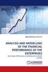ANALYSIS AND MODELLING OF THE FINANCIAL PERFORMANCE OF THE ENTERPRISES