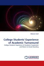 College Students'' Experience of Academic Turnaround