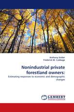Nonindustrial private forestland owners: