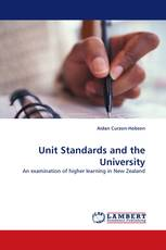 Unit Standards and the University