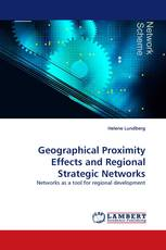Geographical Proximity Effects and Regional Strategic Networks
