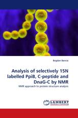 Analysis of selectively 15N labelled PpiB, C-peptide and DnaG-C by NMR