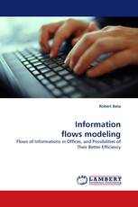 Information flows modeling