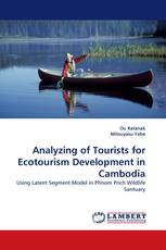Analyzing of Tourists for Ecotourism Development in Cambodia