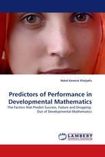 Predictors of Performance in Developmental Mathematics