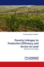 Poverty Linkages to Productive Efficiency and Access to Land