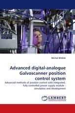 Advanced digital-analogue Galvoscanner position control system