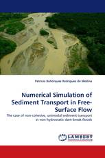 Numerical Simulation of Sediment Transport in Free-Surface Flow