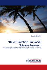 'New'' Directions in Social Science Research