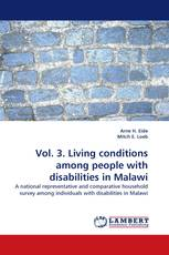 Vol. 3. Living conditions among people with disabilities in Malawi