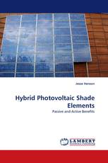 Hybrid Photovoltaic Shade Elements