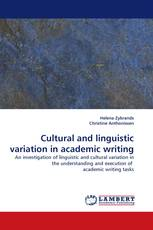 Cultural and linguistic variation in academic writing