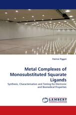 Metal Complexes of Monosubstituted Squarate Ligands