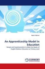 An Apprenticeship Model in Education