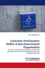 Consumer Participation Within A Non-Government Organisation