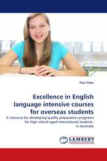 Excellence in English language intensive courses for overseas students