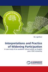 Interpretations and Practice of Widening Participation
