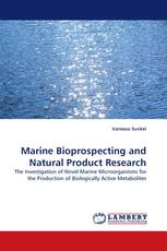 Marine Bioprospecting and Natural Product Research