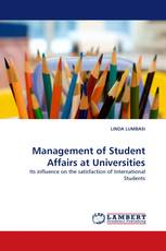 Management of Student Affairs at Universities