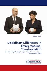 Disciplinary Differences in Entrepreneurial Transformation