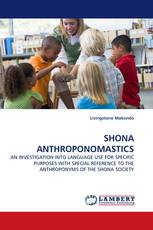 SHONA ANTHROPONOMASTICS