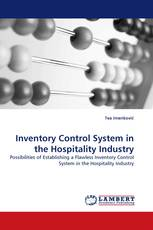 Inventory Control System in the Hospitality Industry