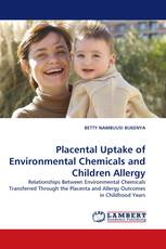 Placental Uptake of Environmental Chemicals and Children Allergy