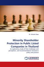 Minority Shareholder Protection In Public Listed Companies in Thailand