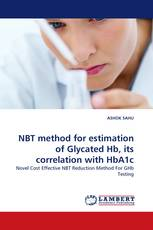 NBT method for estimation of Glycated Hb, its correlation with HbA1c