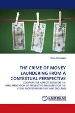 THE CRIME OF MONEY LAUNDERING FROM A CONTEXTUAL PERSPECTIVE