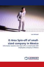 IS Area Spin-off of small-sized company in Mexico