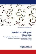 Models of Bilingual Education