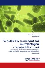 Genotoxicity assessment and microbiological characteristics of soil