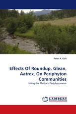 Effects Of Roundup, Glean, Aatrex, On Periphyton Communities