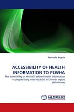 ACCESSIBILITY OF HEALTH INFORMATION TO PLWHA