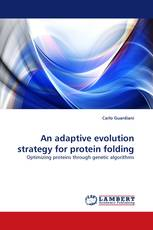 An adaptive evolution strategy for protein folding