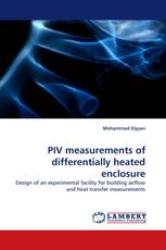 PIV measurements of differentially heated enclosure